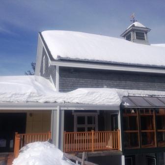PVs under snow