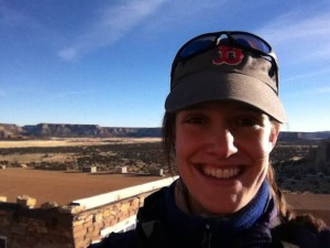 Hannah Lyons-Galante in New Mexico