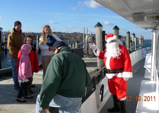 Santa with Lynch Family