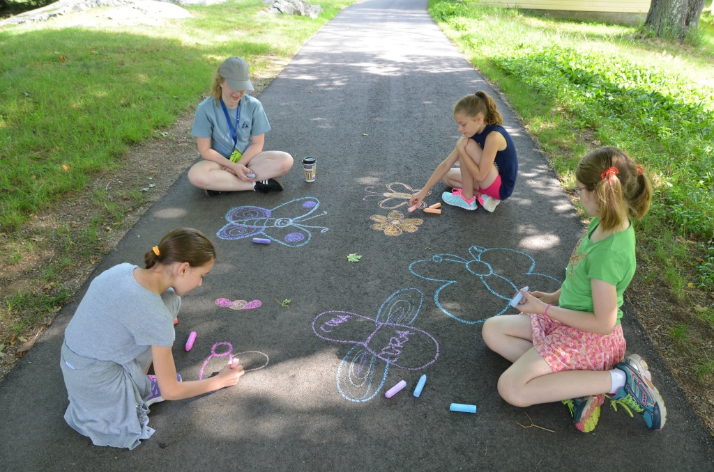 Chalk Butterflies