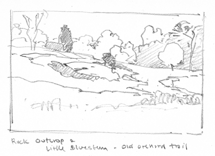 Old Orchard at Broadmoor - SKETCH - at 72 dpi