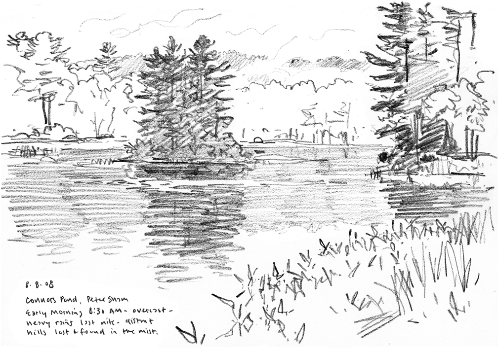 Connors Pond - at 72 dpi, grayscale