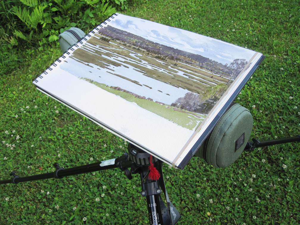 Scope Used as Easel - North River 2 - at 72 dpi