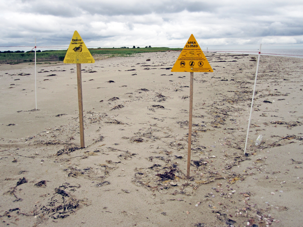 Sampsons Island Warning Signs - at 72 dpi