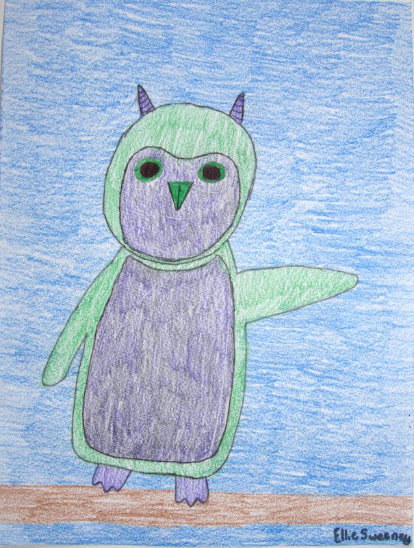Ellie, Sweeney, Owly, Age 10
