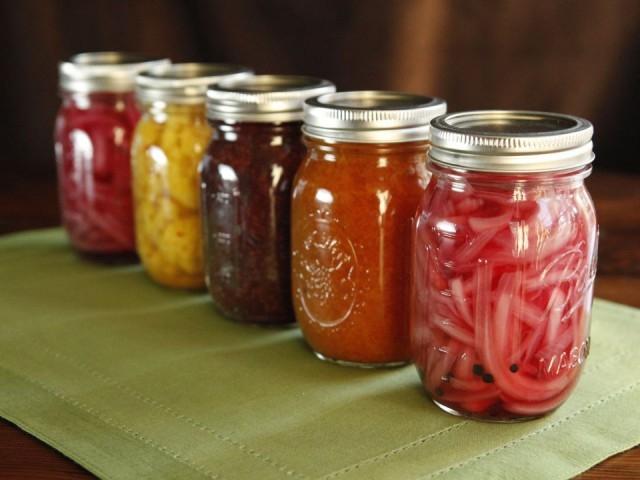 canned jars