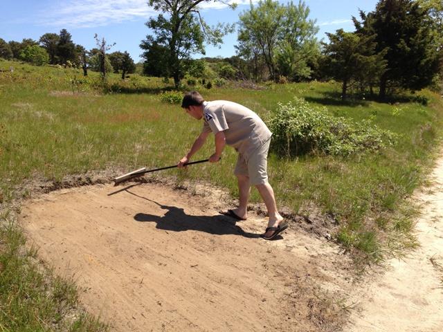 Ron Kielb Maintains a Turtle Garden