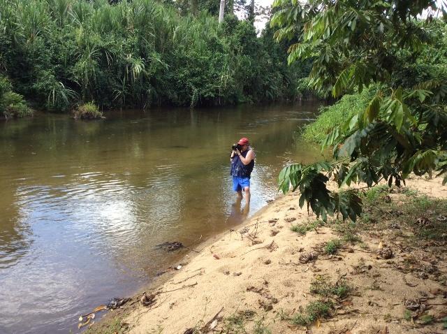 Karen Strauss on recent vacation in Belize