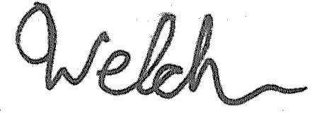 Welch Signature