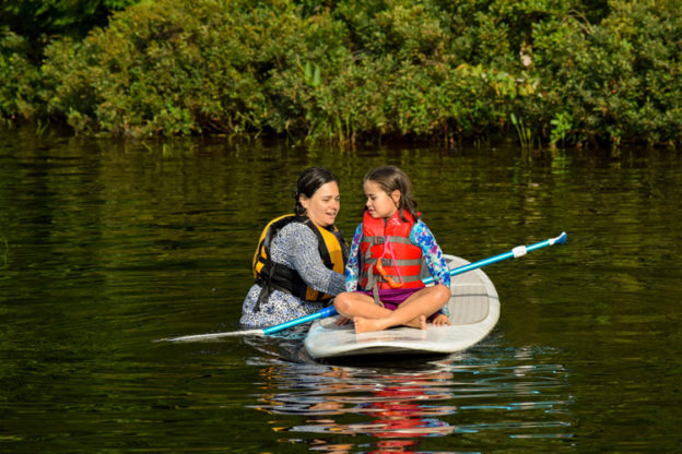 Stand-up Paddleboarding (SUP) at Wildwood Family Camp