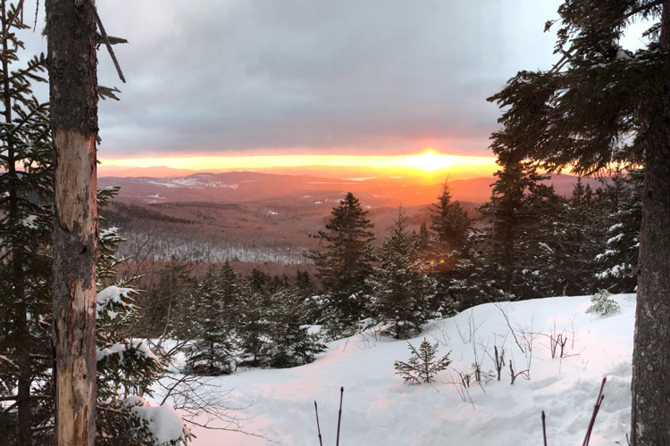 Sunrise Over Mount Cardigan