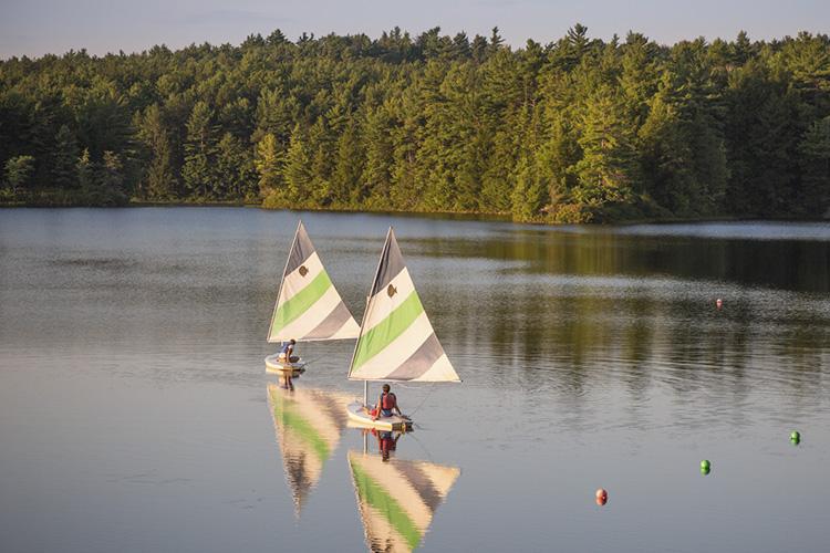 Sailing at Wildwood © Justin Miel