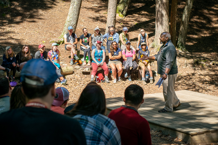 "Camp Director and Staff Training Expert Doug Sutherland led an excellent keynote on diversity and what he calls ""Cultural Mindfulness"""