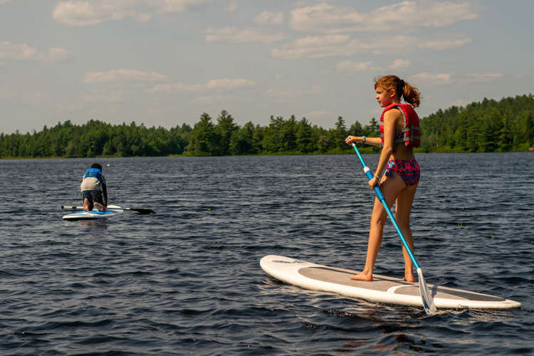 Stand-up Paddleboarding is all the rage these days