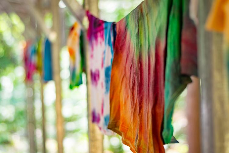 Nice tie-dye creations!