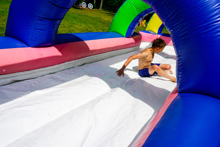 July 4th Slip-n-Slide