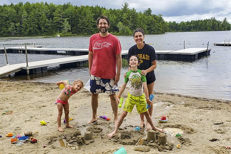 Wildwood Getaways Family at Waterfront