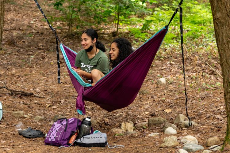 Chilling in the Chill Zone hammocks