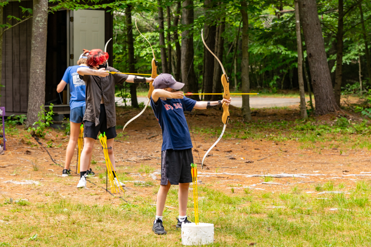 Archery is an ever-popular afternoon DG