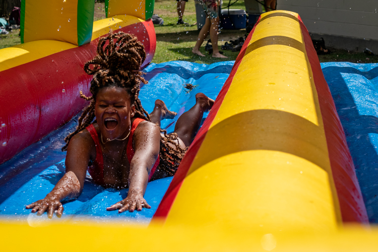 Slip-n-slides are the best on a hot summer day!
