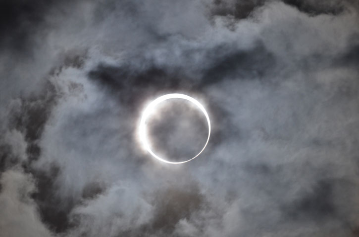 Annular Solar Eclipse © Takeshi Kuboki