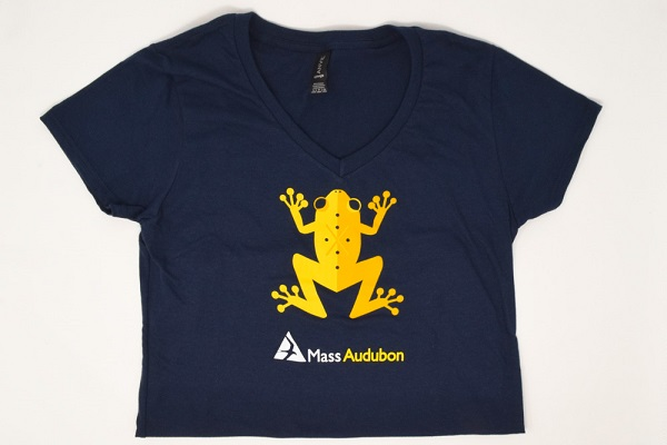 Mass Audubon T-Shirt with Spring Peeper Frog