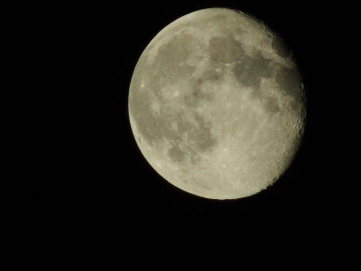 Moon Close-Up © Mackenzie Lannon