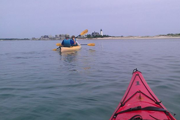 kayaking in Barnstable