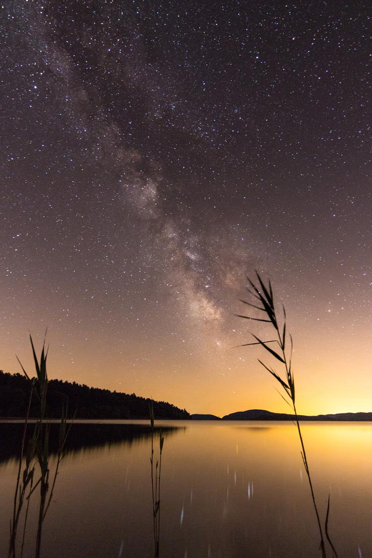 Stars Over Lake © Andrew Santoro