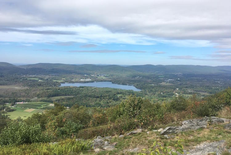 Berkshires Hiking View