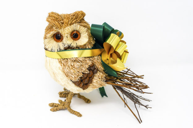 Holiday Brush Owl