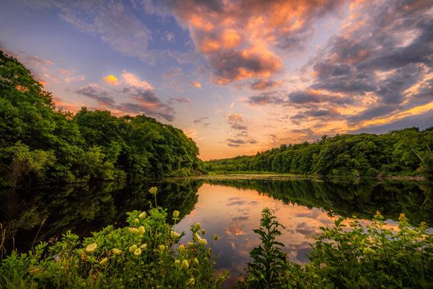 Landscape at Sunset - Lynda Appel