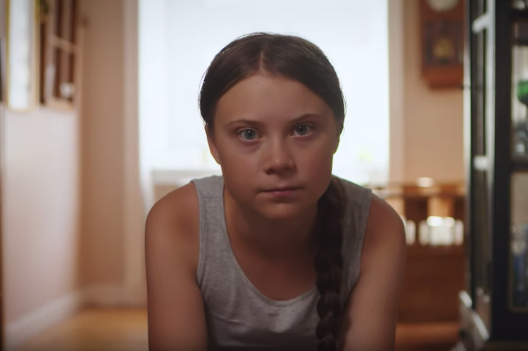 Greta Thunberg in NatureNow