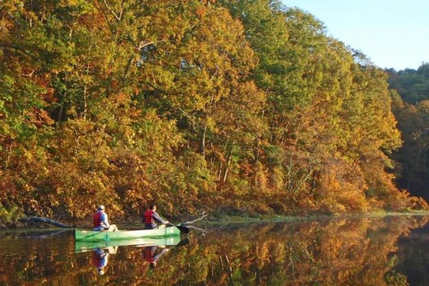 Fall foliage paddle