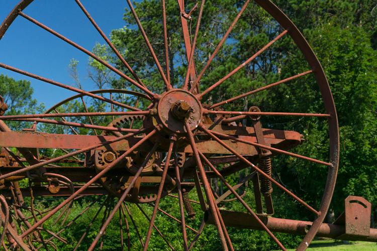 Old Farm Equipment at Drumlin Farm in Lincoln, MA © Cynthia Cole