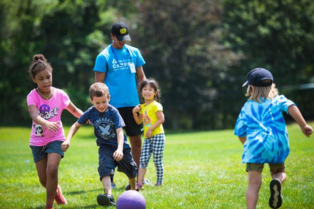 Kids at camp