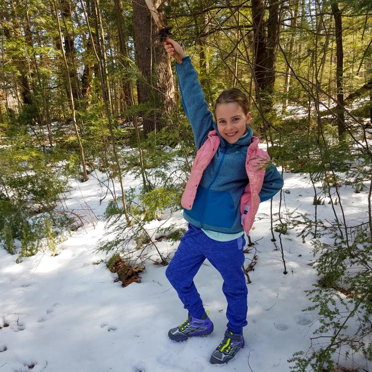 Nature Hero Willow, Age 8