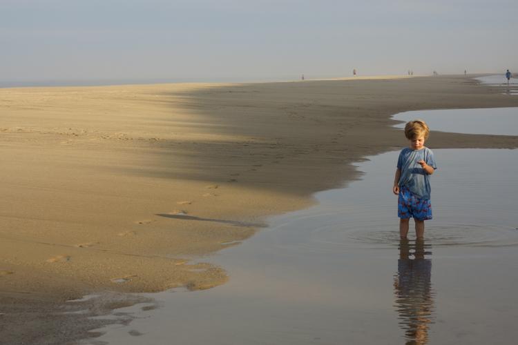 Finding Treasures in the Sand © Melanie Mendez