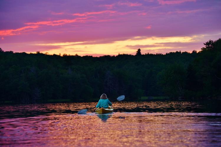 Sunset Kayak © Robert Watroba