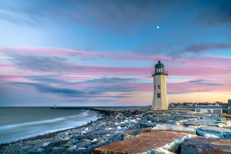 Scituate Lighthouse © Nathan Gobes