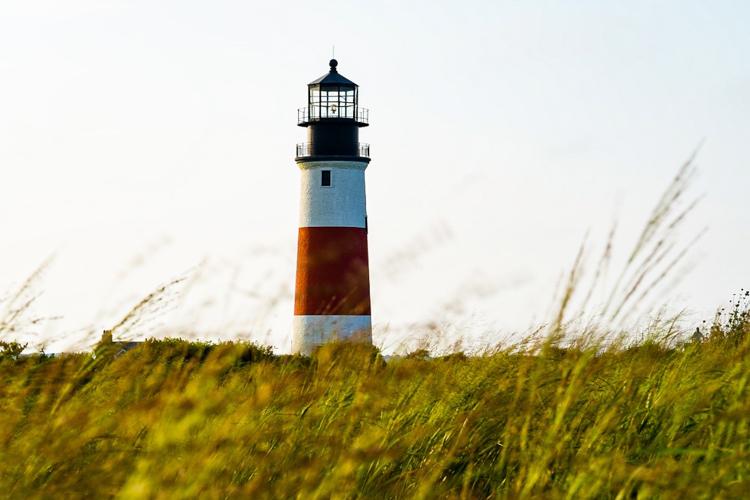 Sankaty Head Lighthouse on Nantucket © Anastasia Semel